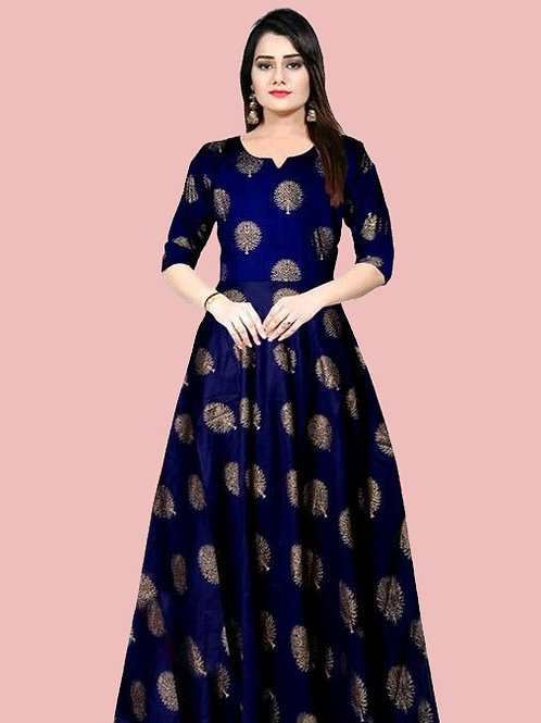 PB Pretty sensational Women Gown  Royal Blue