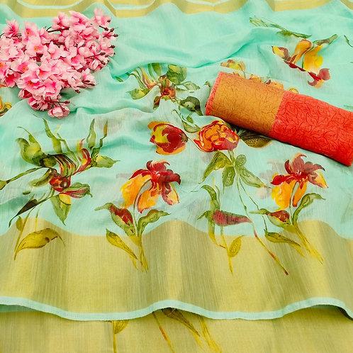 KFS Vamika Cotton Saree 03