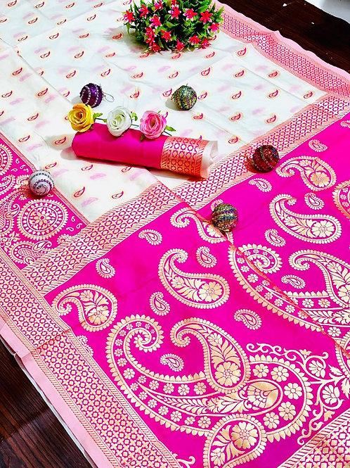 KFS Puja Special Silk Saree 03