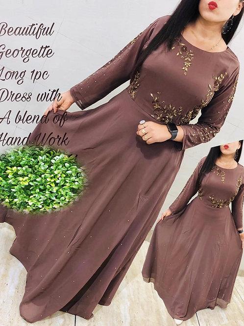 KFS Georgette Long Gown 07