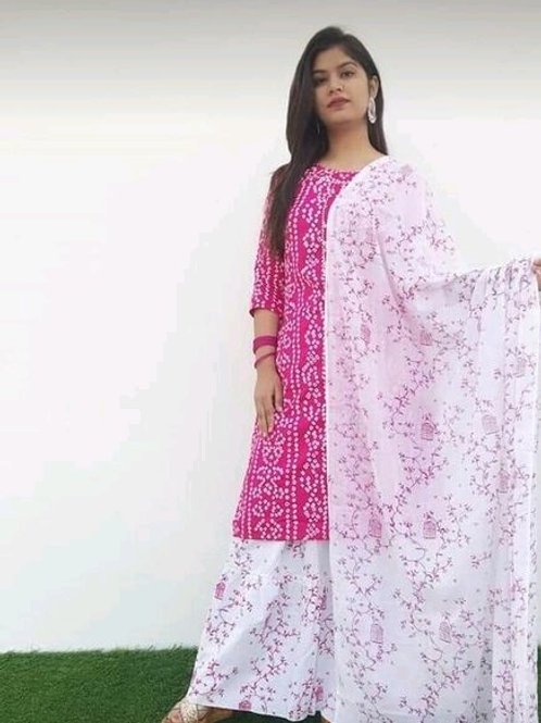 PB Aishani Ensemble Cotton Skirt Set 03