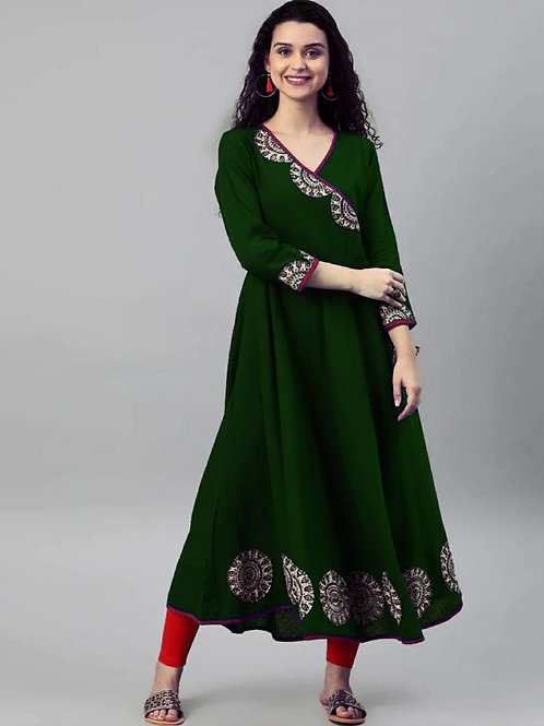 ATLS Digital Print Long Kurti 01