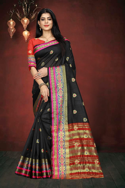 ATLS South Cotton Saree 04