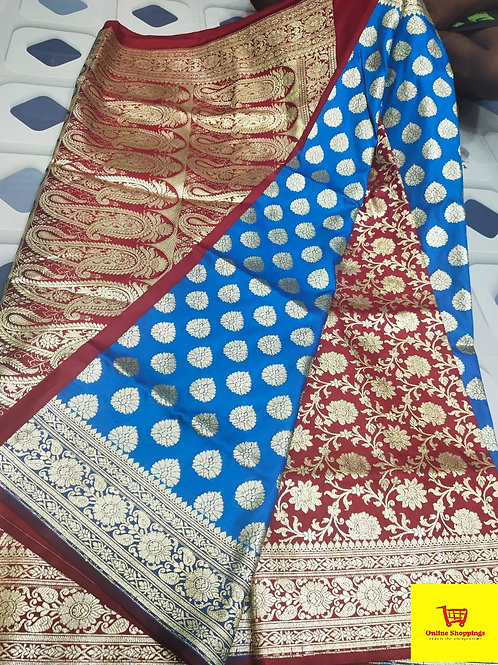 IK Gorgeous Banarasi Saree 14