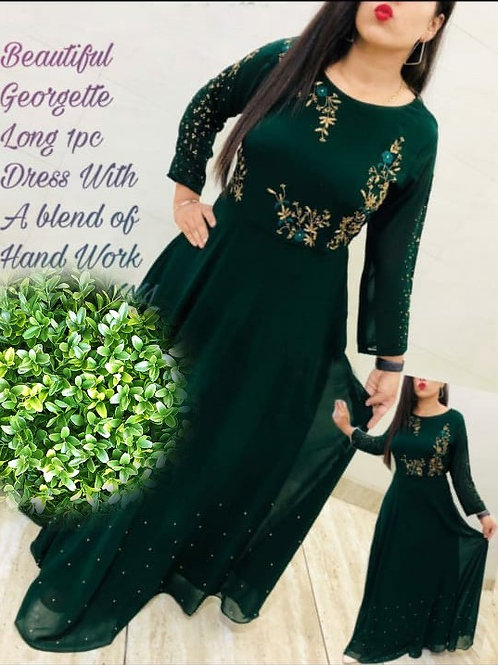 KFS Georgette Long Gown 05