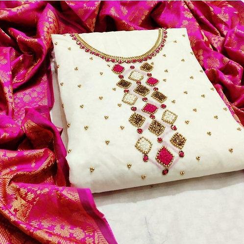 KFS Chanderi Designer Suits 04