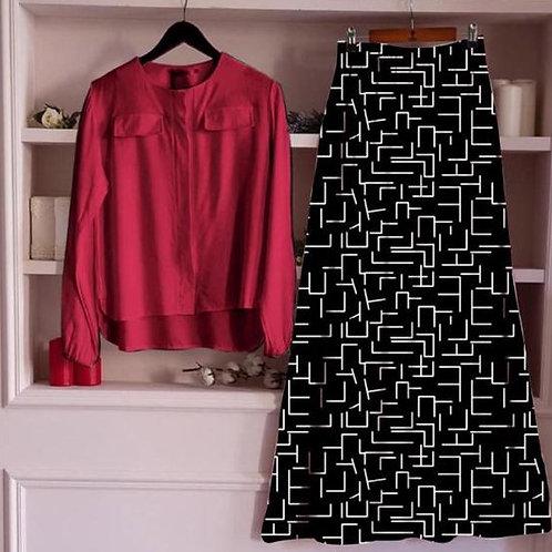 VRS Designer Skirt & Top 15