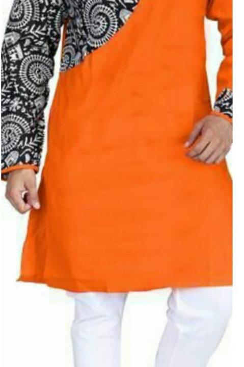 UB Designer Punjabi Orange