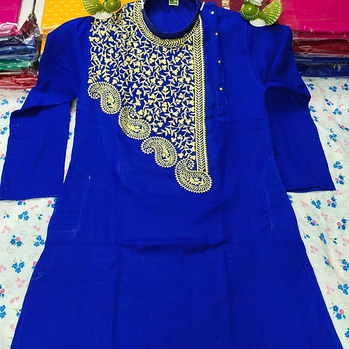 MK Babumosai Punjabi  Royal Blue