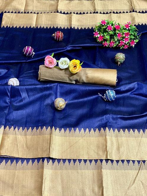 KFS Bhagalpuri Silk Saree 02