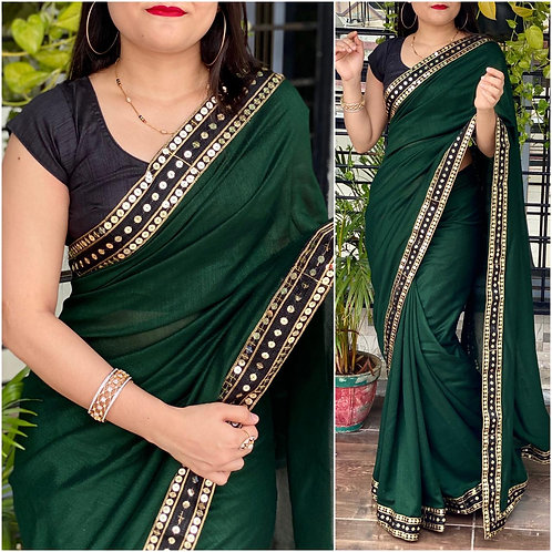 KFS Designer Sequence Work Saree 04