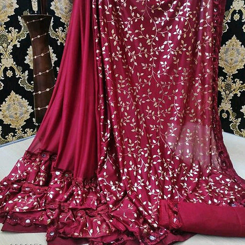 PS Designer Fancy Art Silk Saree 04