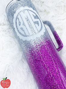 Ombre Personalized Tumbler
