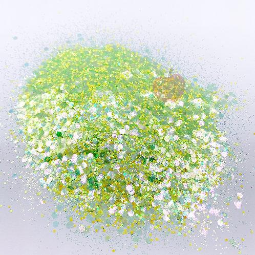GLITTER OF THE WEEK: Shamrock & Roll Custom Mix Green Glitter