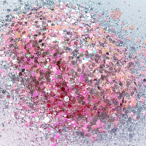 Cherry Blossom Pink Glitter