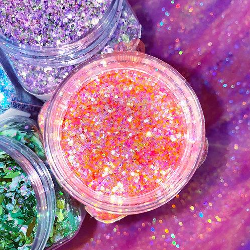 Glitter on Mars Custom Mix Coral Glitter