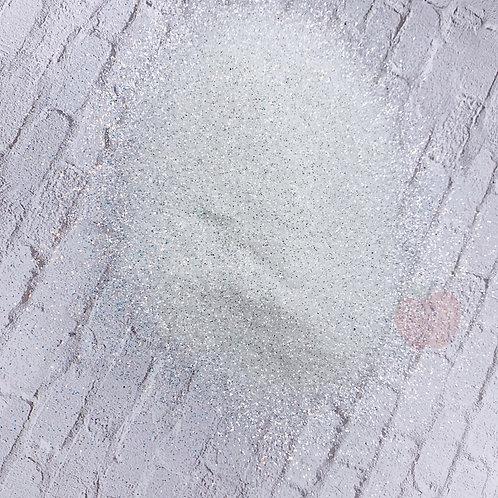 Skeleton Glitz White Glitter