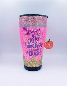 Influence of A Great Teacher Can't Be Erased Tumbler