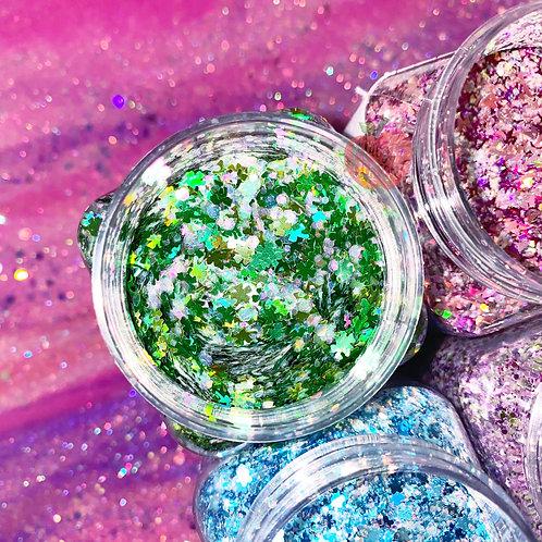 Clover me in Glitter Custom Mix