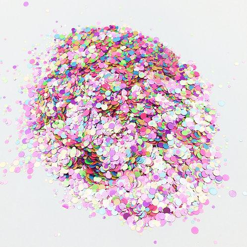 Confetti Pink Glitter