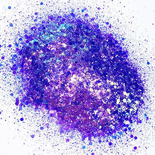 Quintanilla Purple Glitter