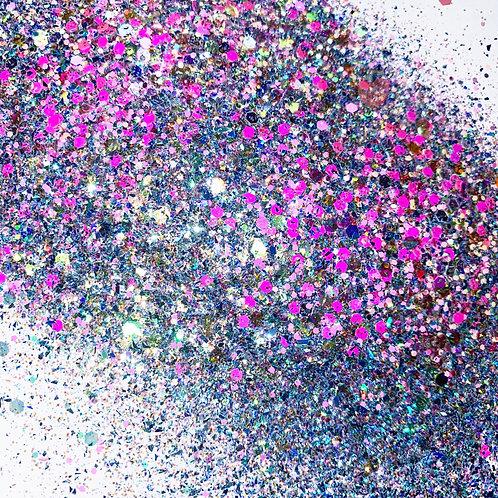Glitter Storm Custom Mix Pink Glitter