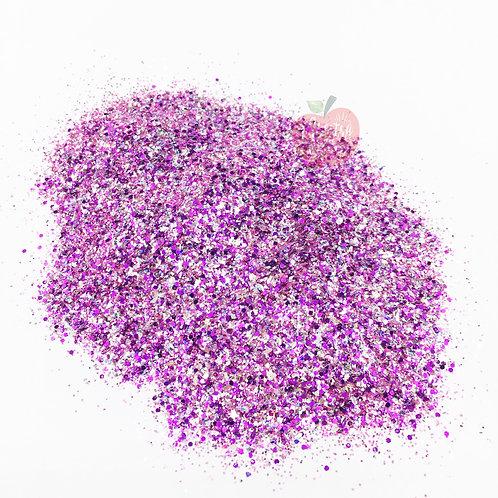 Orchid Custom Mix Purple Glitter