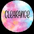 Clearance Glitter