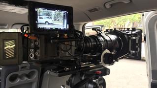 Camera in car