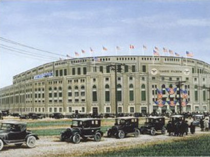 Yankee Stadium Artist Edition lithograph limited to 50 prints.
