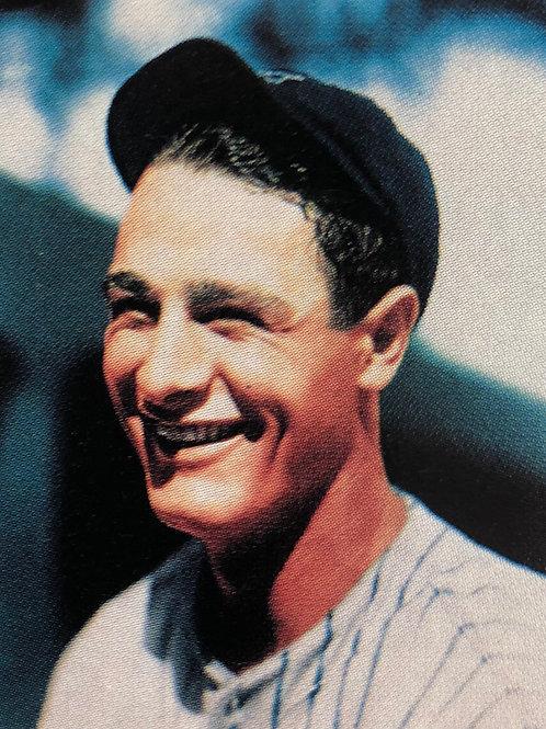 Lou Gehrig limited edition Color Conlon Collection