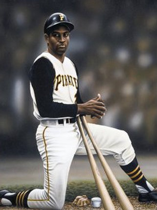 """Roberto Clemente """"The DreamLives On"""" limited edition lithograph"""