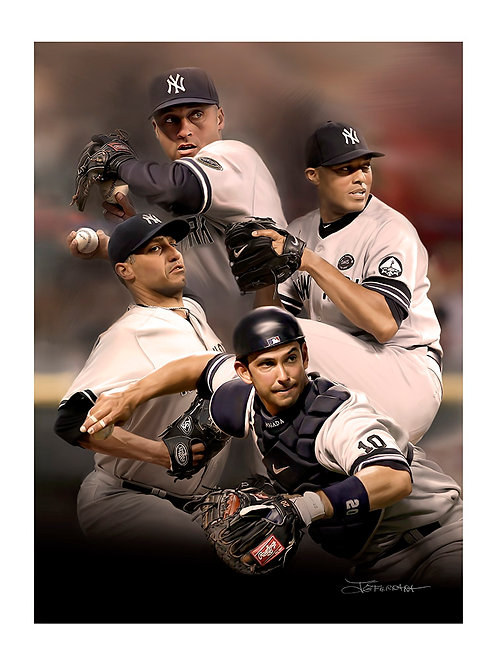"""""""CORE FOUR"""" Limited Edition Giclee print"""