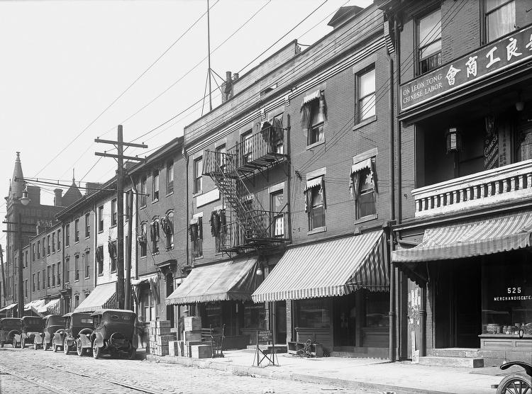 Chinatown Neighborhood (c. 1930)