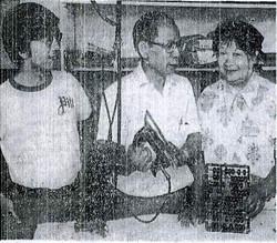 Laundry Family (c. 1975)