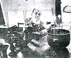 Man at Altar (c. 1985)