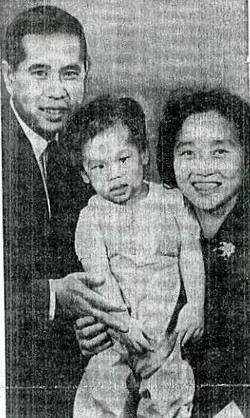 Chinese Minister & Family (c. 1960)