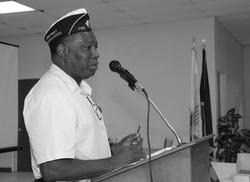 Charles David, District Commander