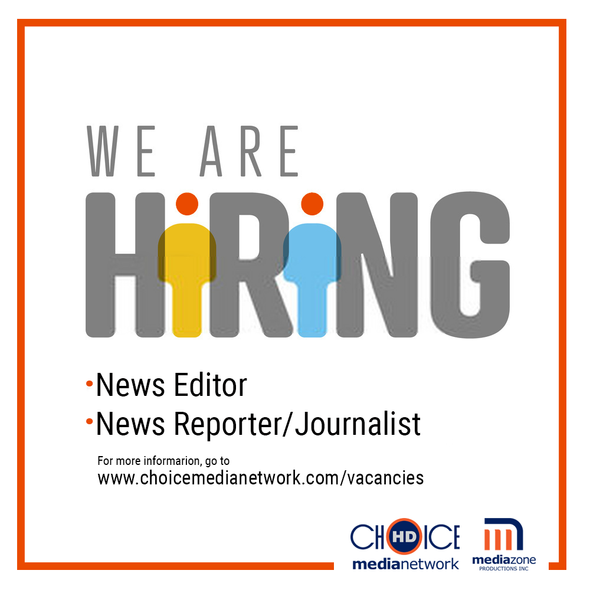 Vacancy for News Editor and News Reporter