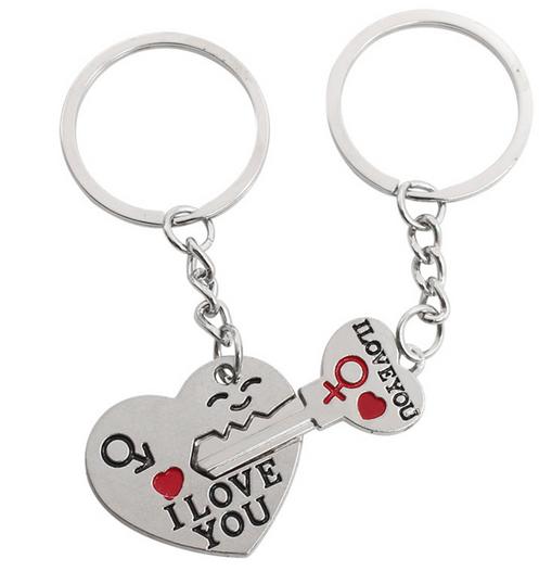 3a19fd04cb I Love You Heart Couples Key Chains Set. SKU: YSKQL005. $ 8.99