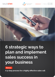 6 Strategic Ways To Plan And Implement Sales Success in your Business