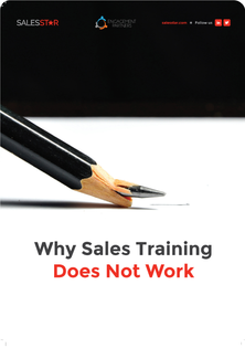 Why Sales Training Does Not Work