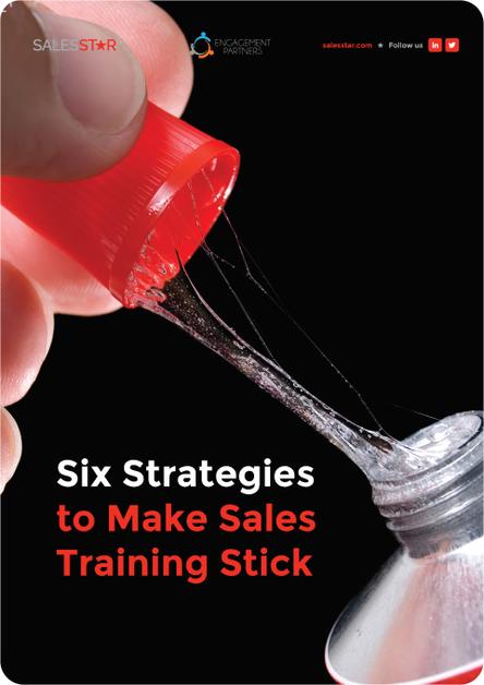Six Strategies To Make Sales Training Stick