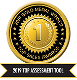 Engagement Partners Objective Management Group 2019 Gold Medal Award Winner for Top Assesment Tool