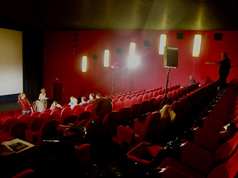 BarenMarke Paddington Movie Campaign 2014, Cinemax Hamburg