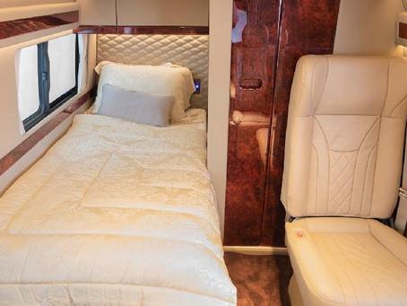 bav Modifikasi Toyota Hiace Premio Jadi Motorhome: Ada Ruang Tidur hingga Toilet