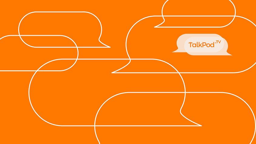 TalkPod TV Logo background 3