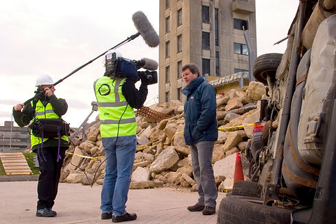 09 Filming PTC from Hugh Kirby during major emergency services excercise.jpg