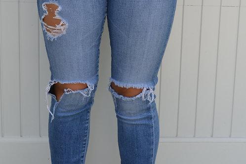 """AG """"Stilt Roll up"""" Jeans"""
