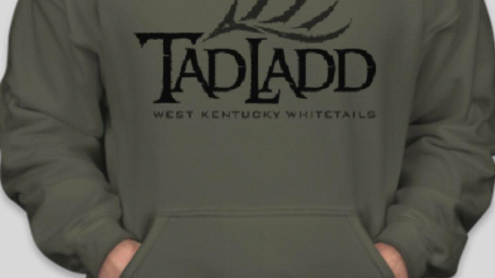 Gildan Hoodie Sweatshirt-Military Green